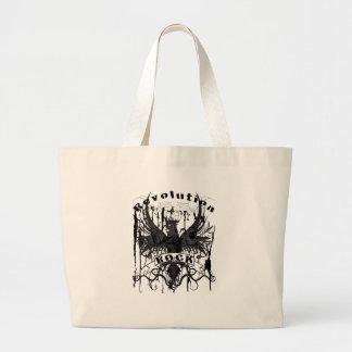 Rock Revolution Music American Apparel Large Tote Bag
