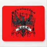 Rock Revolution Music American Apparel Mouse Pad