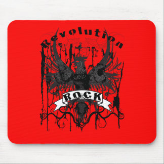 Rock Revolution Music American Apparel Mouse Pad