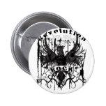 Rock Revolution Music American Apparel Pin