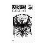 Rock Revolution Music American Apparel Postage Stamp