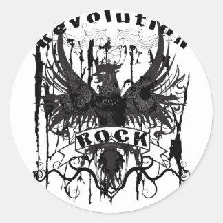 Rock Revolution Music American Apparel Stickers
