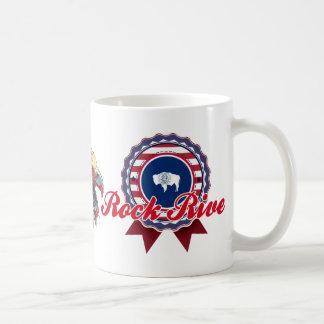Rock River, WY Coffee Mugs