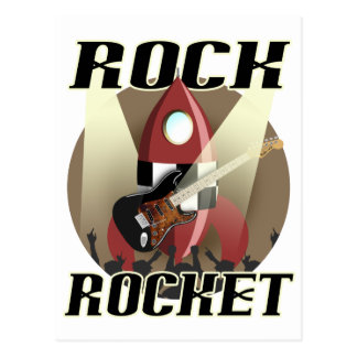 Rock Rocket Postcard
