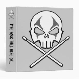 Rock&Roll Binder Custom Heavy Metal Drummer Album