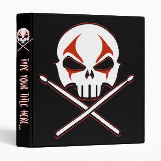 Rock & Roll Binder Custom Heavy Metal Drummer Book