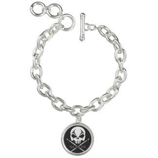 Rock & Roll Bracelet Heavy Metal Charm Bracelet