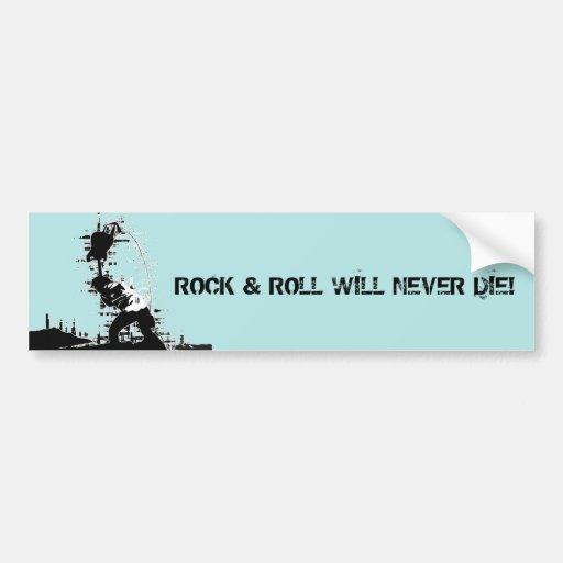 Rock & Roll Bumper Stickers