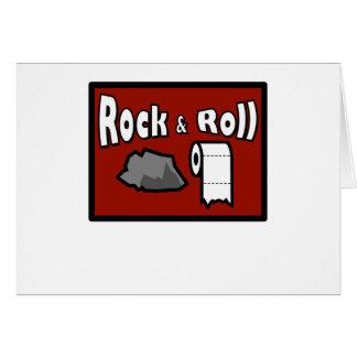 Rock & Roll! Card