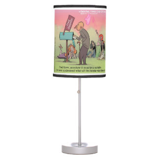 Rock & Roll Fred Funny Table Lamp