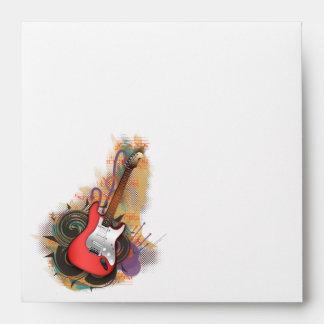 Rock & Roll Guitar - custom background envelopes