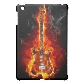 Rock & Roll Guitar in Flames  iPad Mini Cover
