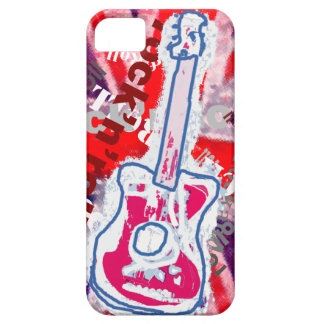 rock & roll guitar music iPhone SE/5/5s case
