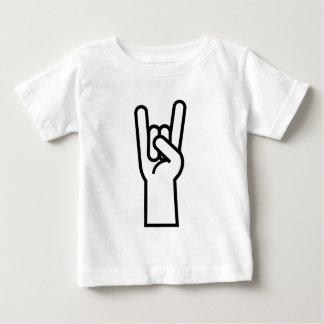 Rock & Roll Hand Symbol Baby T-Shirt