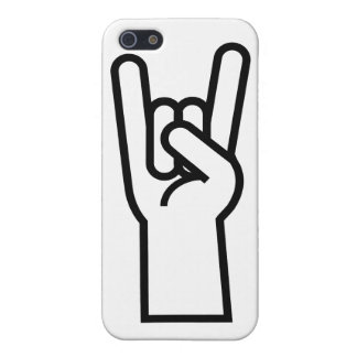 Rock & Roll Hand Symbol iPhone SE/5/5s Cover
