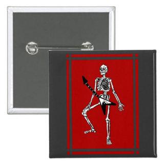 Rock & Roll In My Bones Pin