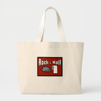 Rock & Roll! Large Tote Bag