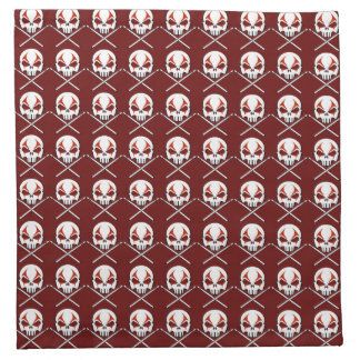 Rock & Roll Napkins Cool Metal Drummer Napkins