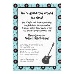 Rock & Roll Party Invitation