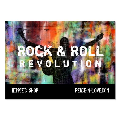 Rock & Roll Revolution Business Card