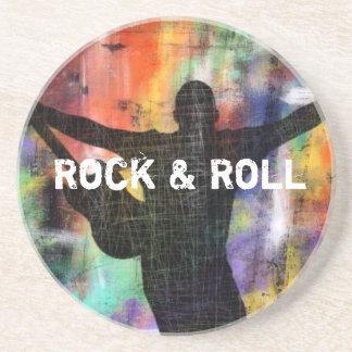 Rock & Roll Revolution Drink Coaster