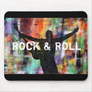 Rock & Roll Revolution Mouse Pad