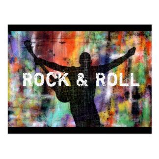Rock & Roll Revolution Postcard