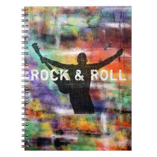 Rock & Roll Revolution Spiral Notebook