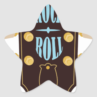 Rock & Roll Star Sticker