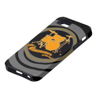 rock & roll ~ the drummer iPhone 5 case