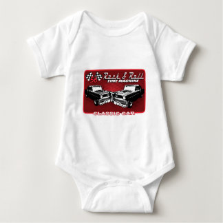 Rock & Roll Time Machine Baby Bodysuit
