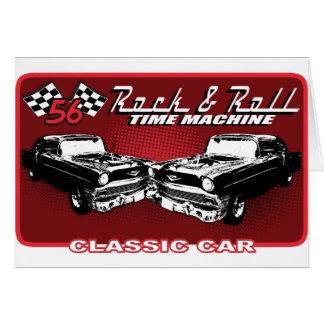 Rock & Roll Time Machine Card