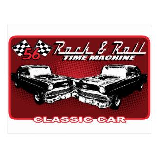 Rock & Roll Time Machine Postcard