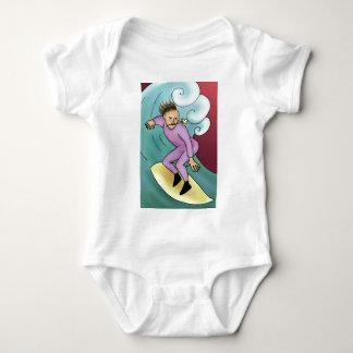 Rock Rose Surfer Baby Bodysuit