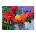 Rock roses #3 greeting cards