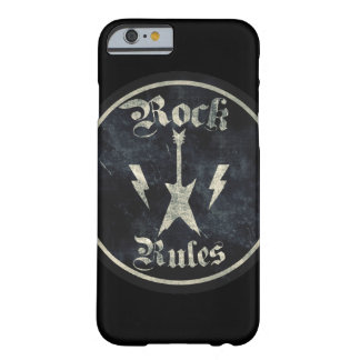Rock Rules !! Barely There iPhone 6 Case