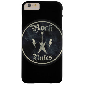 Rock Rules !! Barely There iPhone 6 Plus Case