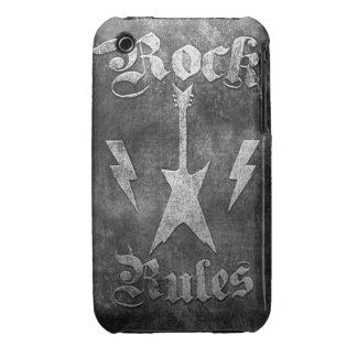 Rock Rules !! iPhone 3 Case-Mate Case