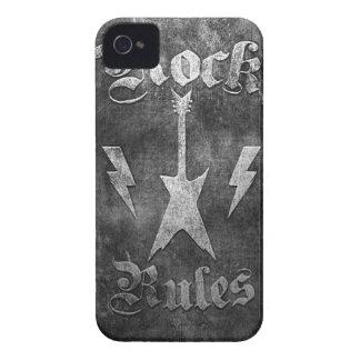 Rock Rules !! iPhone 4 Case
