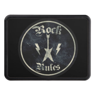 Rock Rules Trailer Hitch Cover
