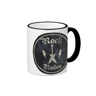 Rock Rules !! Ringer Mug