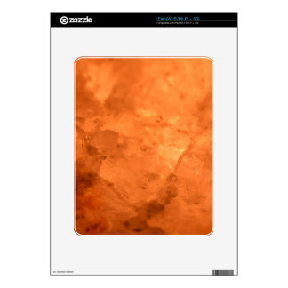 Rock Salt Lamp Decal For iPad