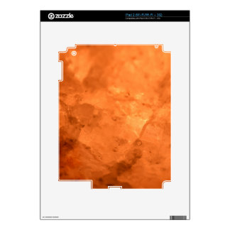 Rock Salt Lamp iPad 2 Decal