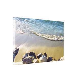 Rock, Sand, Water Canvas