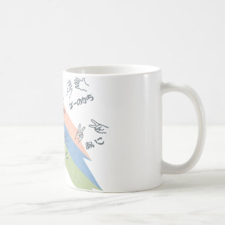 Rock-Scissors-Paper!! Classic White Coffee Mug