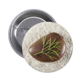 Rock, Seaweed & Sand Button