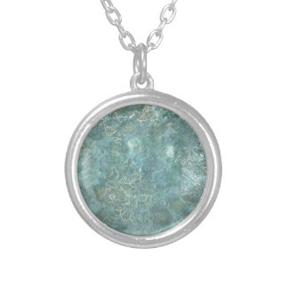 Rock Series Necklace; #1 Silver Plated Necklace