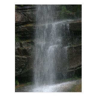 Rock Shelf Waterfall Postcard