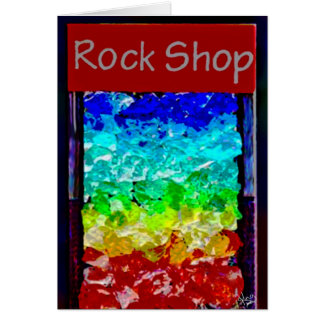 Rock Shop at the Antelope Lodge, Alpine, TX Card