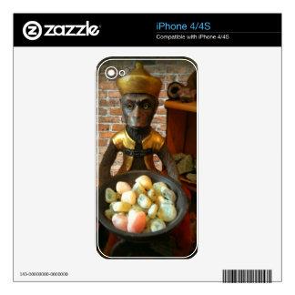 Rock Shop Monkey iPhone 4S Decals